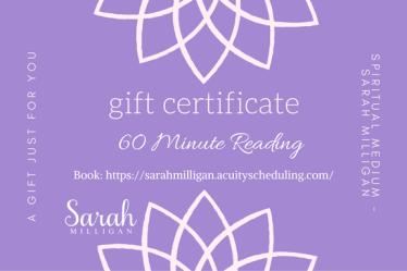 Spiritual Medium - Sarah Milligan (3)