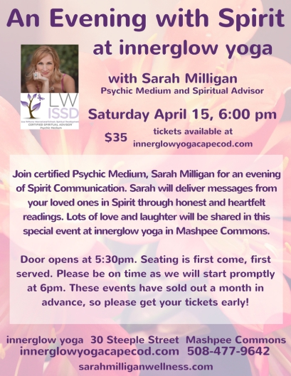Upcoming Event at Innerglow Yoga